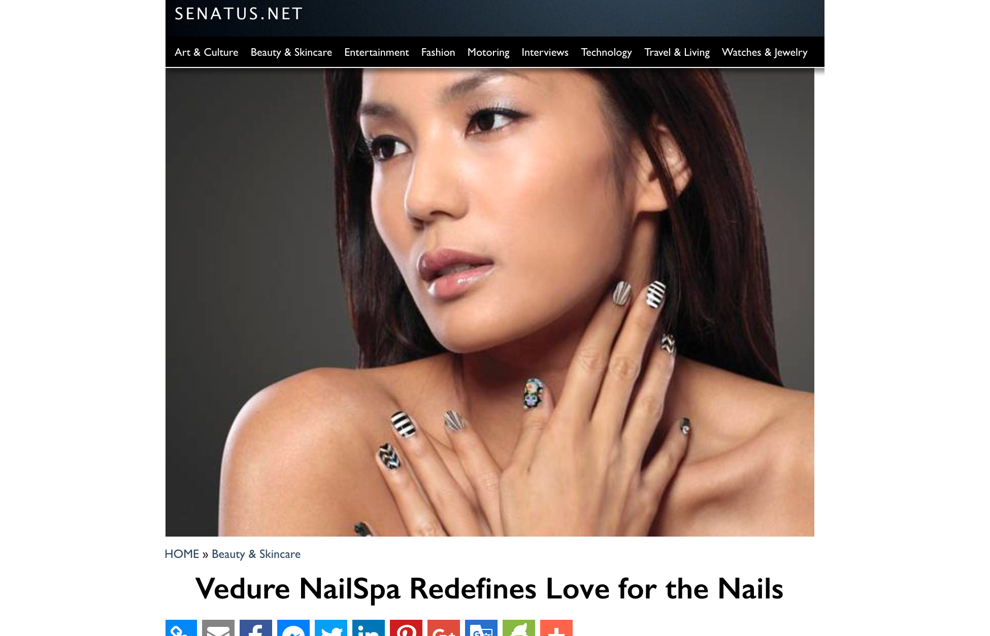Vedure Redefines Nails