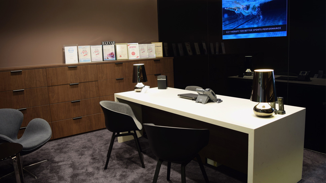 Vedure's newly renovated reception